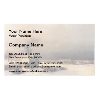Ivan Aivazovsky- Moscow in Winter, Sparrow Hills Double-Sided Standard Business Cards (Pack Of 100)