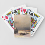 Ivan Aivazovsky- Moscow in Winter, Sparrow Hills Bicycle Poker Deck