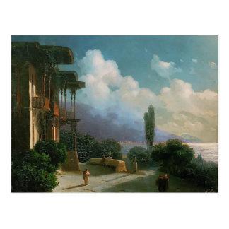 Ivan Aivazovsky- Night near Yalta Postcard