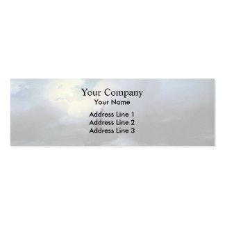 Ivan Aivazovsky- Rough sea at night Business Card Templates