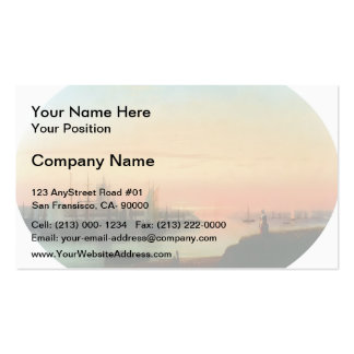 Ivan Aivazovsky- Smolny Convent Sunseat Double-Sided Standard Business Cards (Pack Of 100)