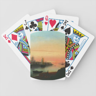 Ivan Aivazovsky- Smolny Convent Sunseat Bicycle Card Deck