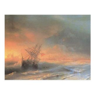 Ivan Aivazovsky- Tempest above Evpatoriya Postcard