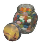 Ivan Aivazovsky- The Bay of Naples Glass Candy Jars