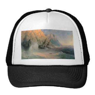 Ivan Aivazovsky- The Shipwreck Trucker Hat