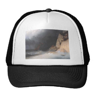 Ivan Aivazovsky- The Shipwreck Mesh Hat