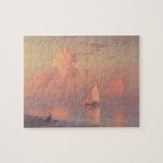 Ivan Aivazovsky- The sunset Jigsaw Puzzle