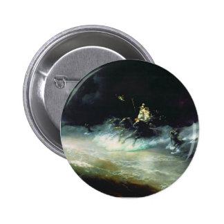 Ivan Aivazovsky- Travel of Poseidon by sea Pin