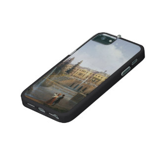 Ivan Aivazovsky-View of Big Cascade & Great Palace iPhone 5 Cases