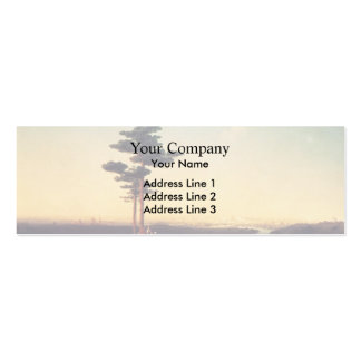 Ivan Aivazovsky- View of Moscow from Sparrow Hills Double-Sided Mini Business Cards (Pack Of 20)