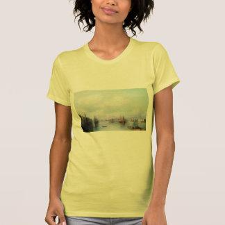 Ivan Aivazovsky- View of Peterburg T-shirt