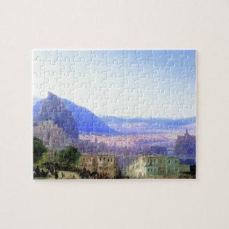 Ivan Aivazovsky- View of Tiflis Jigsaw Puzzle