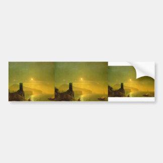 Ivan Aivazovsky- View of Vico near Naples Bumper Sticker