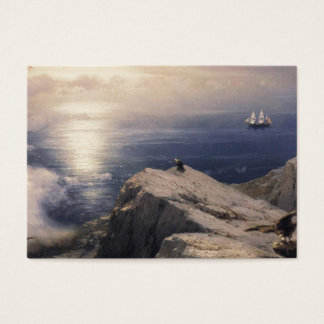 Ivan Aivazovsky vintage water boat painting old Business Card