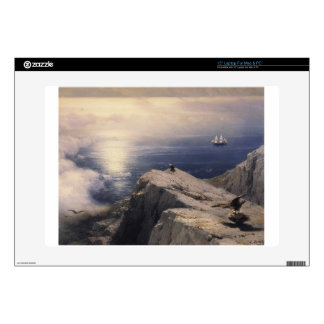 Ivan Aivazovsky vintage water boat painting old Laptop Decal