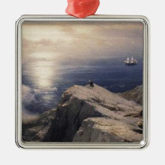 Ivan Aivazovsky vintage water boat painting old Metal Ornament