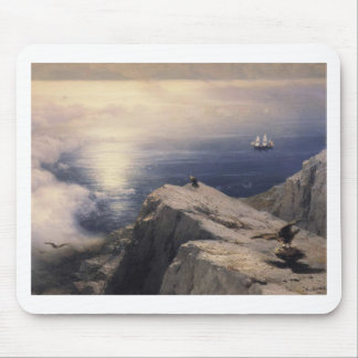 Ivan Aivazovsky vintage water boat painting old Mouse Pad