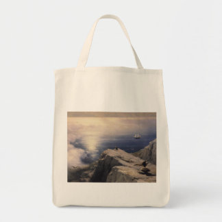 Ivan Aivazovsky vintage water boat painting old Tote Bag