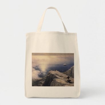 Professional Business Ivan Aivazovsky vintage water boat painting old Tote Bag
