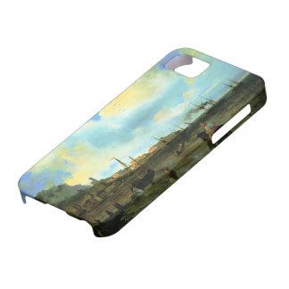 Ivan Aivazovsky- Yalta iPhone 5 Carcasas