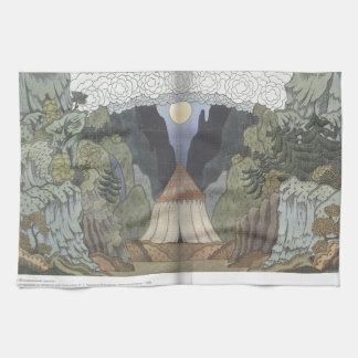Ivan Bilibin: Sketch for the opera Kitchen Towels