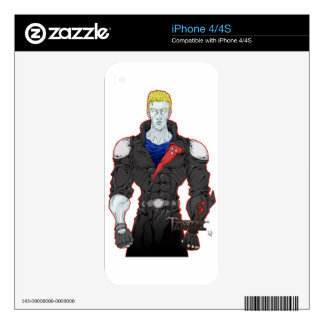 Ivan Decal For iPhone 4