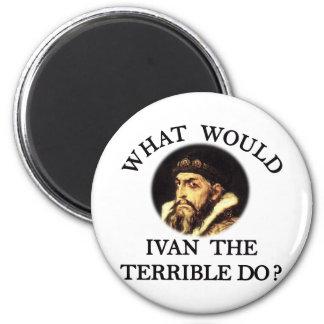 Ivan el terrible imán redondo 5 cm