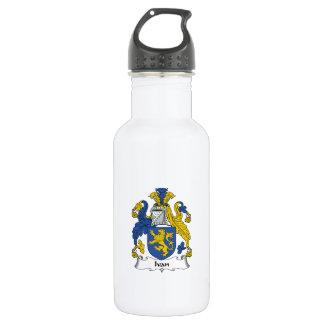 Ivan Family Crest Stainless Steel Water Bottle