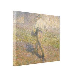 Ivan Grohar: The Sower Stretched Canvas Print