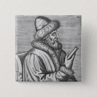 Ivan IV  the Terrible Pinback Button