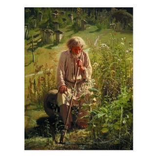 Ivan Kramskoy- Beekeeper Postcard