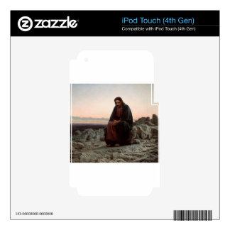 Ivan Kramskoy- Christ in the Wilderness - Fine Art iPod Touch 4G Skins