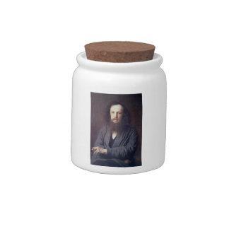 Ivan Kramskoy: D. I. Mendeleev Candy Jar