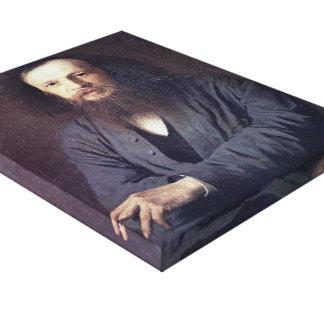 Ivan Kramskoy: D. I. Mendeleev Stretched Canvas Print