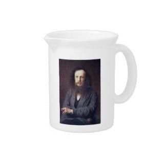 Ivan Kramskoy: D. I. Mendeleev Beverage Pitcher