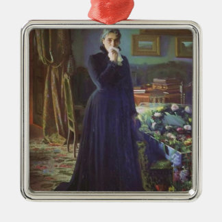 Ivan Kramskoy- Inconsolable grief Christmas Tree Ornament