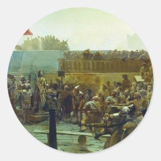 Ivan Kramskoy- Laughter (Hail, king of Judah) Sticker