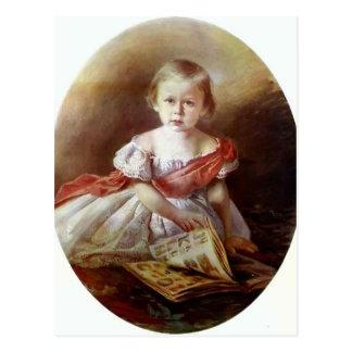 Ivan Kramskoy- Portrait of a Girl Postcard