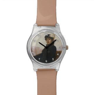 Ivan Kramskoy- Portrait of a woman Wristwatch