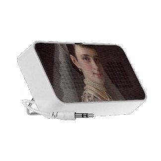 Ivan Kramskoy :Portrait of Empress MariaFiodorovna Mp3 Speakers