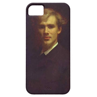 Ivan Kramskoy-Portrait of the Doctor Sergey Botkin iPhone 5 Covers