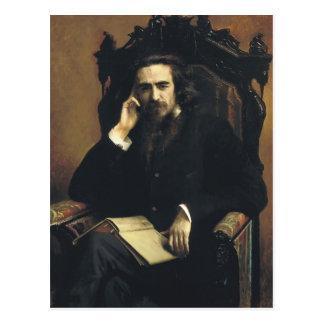 Ivan Kramskoy- Portrait of Vladimir Solovyov Postcard