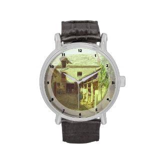 Ivan Kramskoy- Pueblo-Yarda-en-Francia Reloj De Mano