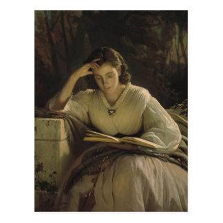 Ivan Kramskoy- Reading Postcards