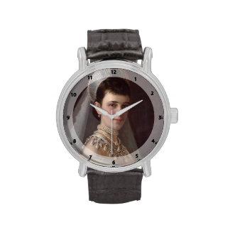 Ivan Kramskoy Retrato de la emperatriz MariaFiodo Relojes De Pulsera