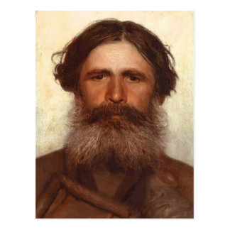 Ivan Kramskoy- The Portrait of a Peasant Postcard