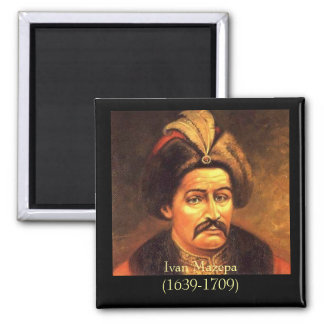 Ivan Mazepa(1639-1709) 2 Inch Square Magnet