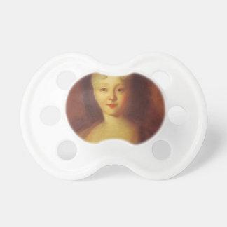 Ivan Nikitin- Princess Elizabeth, future empress Baby Pacifiers