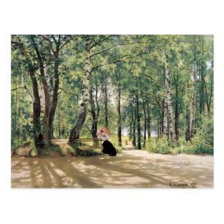 Ivan Shishkin- At the Summer Cottage Postcard