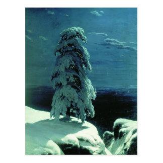 Ivan Shishkin- en el norte salvaje Postal